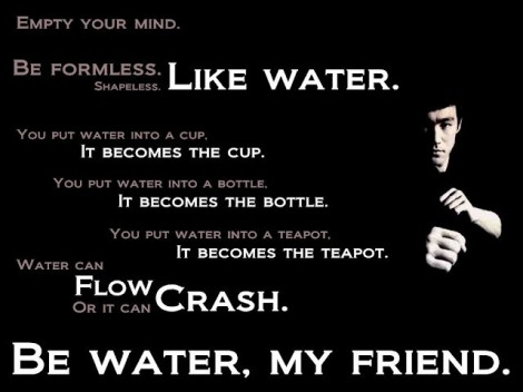 Bruce Lee knows what he's talking about.